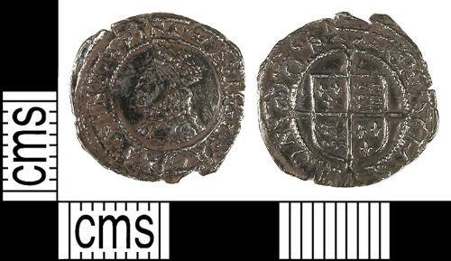 LANCUM-8C1478: Penny of Elizabeth I dating from 1567-70. Mintmark coronet. North 1997