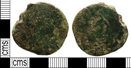 LANCUM-5C54A4: Roman coin: Sestertius of Faustina I