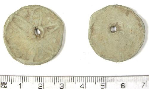 LANCUM-F5D933: LANCUM-F5D933: Post-medieval or early modern lead token