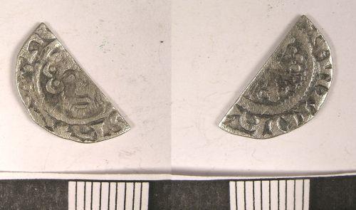 LANCUM-357841: Medieval Coin: Cut Penny of John I (obv., rev.)