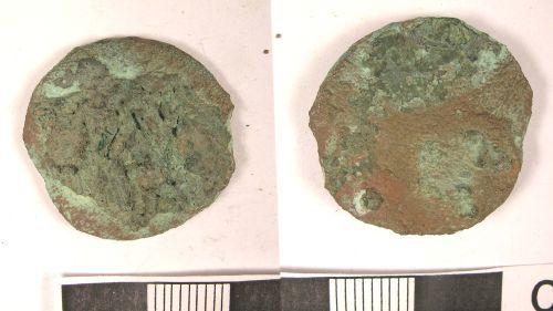 LANCUM-35A992: Roman Coin: As of Vespasian (obv., rev.)