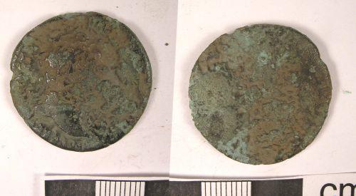 LANCUM-35AD26: Roman Coin: As of Trajan (obv., rev.)