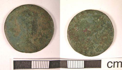 LANCUM-EF49B3: Bickerstaffe: Roman Coin