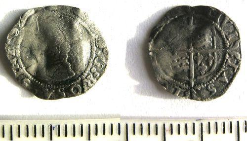 LANCUM-15D831: Post-Medieval penny of Elizabeth I
