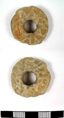 LANCUM-C24D61: Late or Post Medieval lead weight