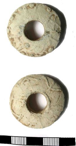 LANCUM-C1A508: Late Medieval Lead Weight