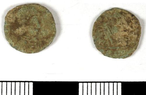 LANCUM-2FC8D5: LANCUM-2FC8D5: Late Roman nummus of Gratian