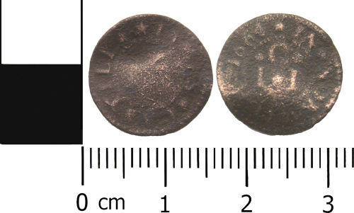 LANCUM-82CF75: Post-medieval token