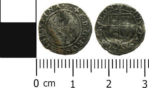 LANCUM-2A5B66: Post-medieval coin: Penny of Elizabeth I