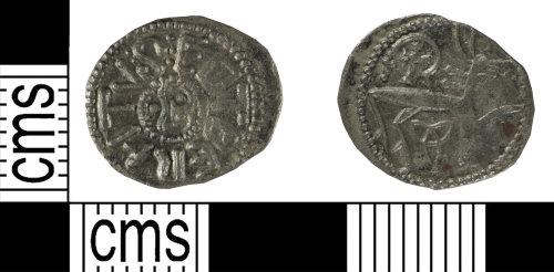YORYM-5171D6: Early Medieval coin: sceatta of Eadberht