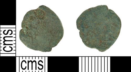 YORYM-D10DC2: Roman coin: Barbarous Radiate