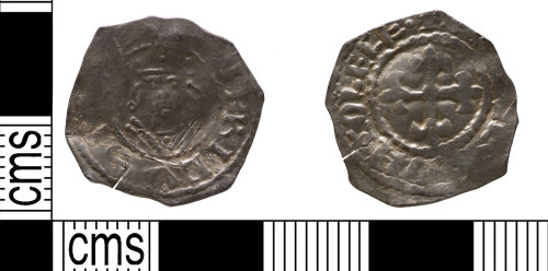 YORYM-DC5143: Medieval coin: penny of Henry I