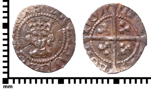PUBLIC-906101: Half penny of Edward IV, second reign