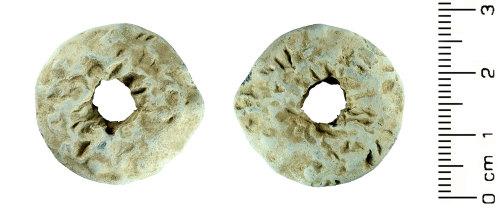 HESH-FAD3AE: Post Medieval: Spindle Whorl