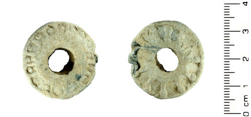 HESH-FA8F56: Post Medieval: Spindle Whorl