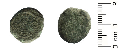 HESH-82BDFB: Medieval: Coin Weight