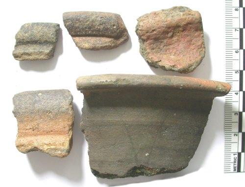 BUC-C28516: Iron Age to Roman pottery rim sherds