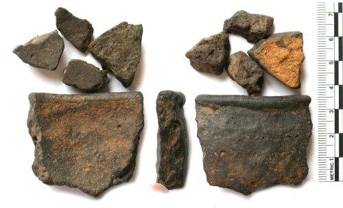 BUC-118DD2: Iron Age pottery sherds (probably)