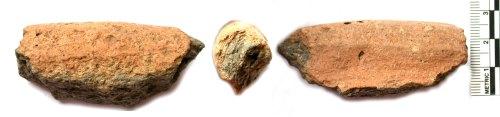 BUC-3FC8C7: Iron Age to Roman pottery rim sherd