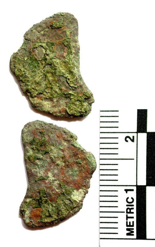 BUC-570863: Roman coin: radiate or nummus (incomplete)