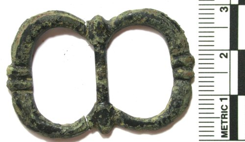 BUC-720DCA: Post-medieval double-looped buckle