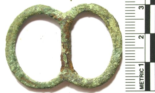 BUC-72148C: Medieval to post-Medieval double-loop buckle