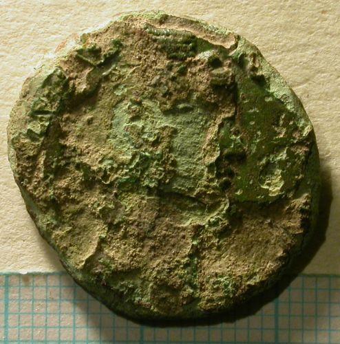 SUR-71D075: 03/615 Dupondius/as of Faustina Senior, obverse