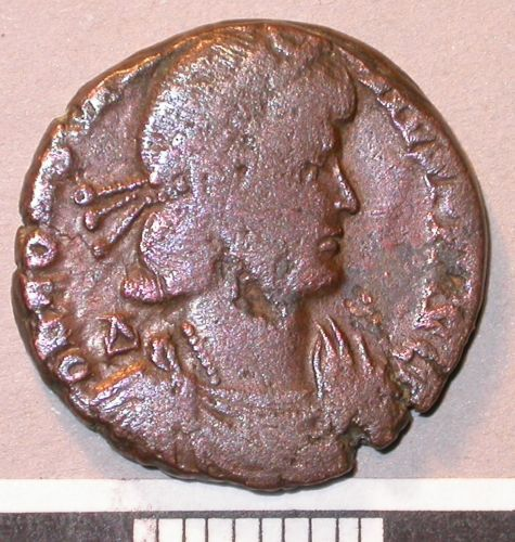 A resized image of 03/681 Nummus of Constantius II