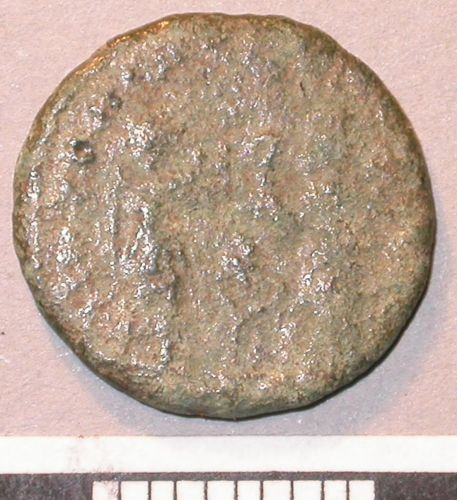 A resized image of 03/686 4th century nummus (reverse)