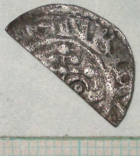 SUR-0D4273: 03/736 Halfpenny of Henry II (obverse)