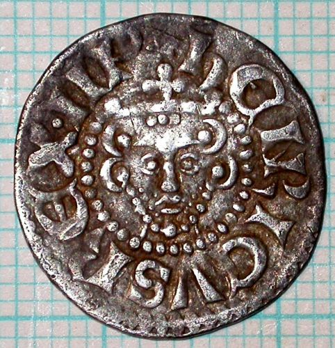 SUR-E7D1F0: 04/477 Penny of Henry III, obv
