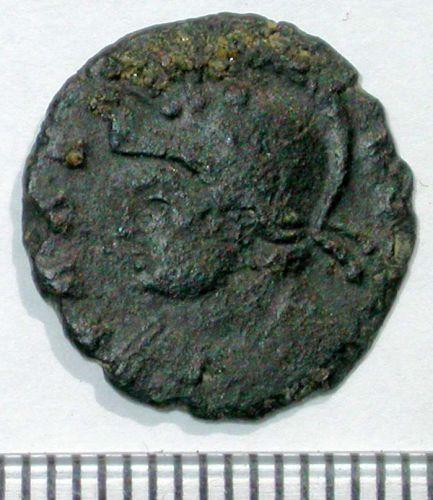 SUR-346EC1: 05/374 Nummus of Constantine I (obverse)