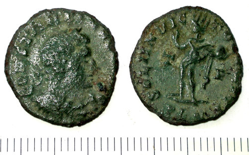SUR-B58752: Roman nummus of the House of Constantine