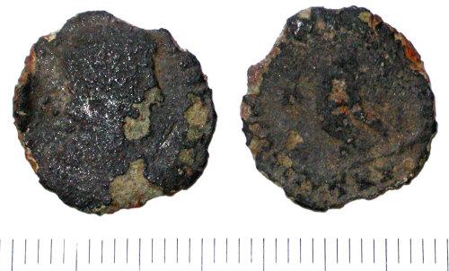 SUR-E09396: Roman nummus of Valens