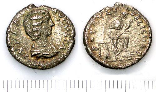 SUR-145B55: Denarius of Julia Domna