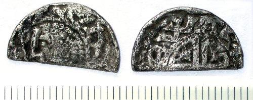 SUR-445051: Medieval Scottish cut halfpenny