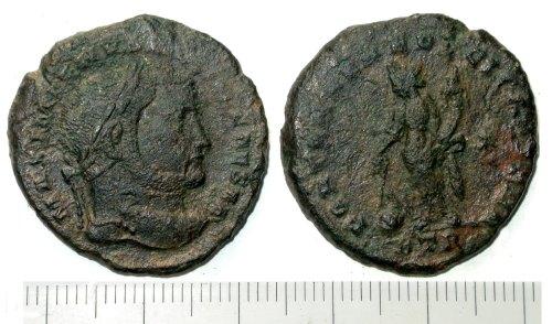 SUR-9C7656: A Roman nummus of Maximian