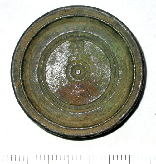 SUR-F34854: Post medieval: One ounce provincial trade weight