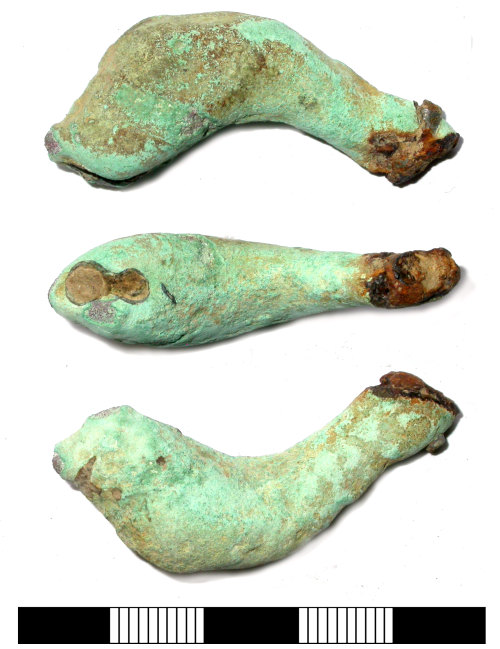 SUR-D40720: Iron Age or Roman: Possible brooch