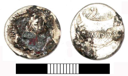 SUR-529E90: Roman: Republican denarius