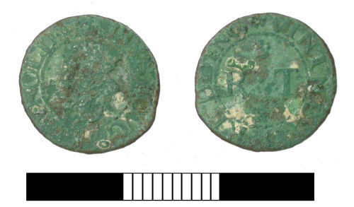 SUR-885DE2: Post medieval: Reading trader's token