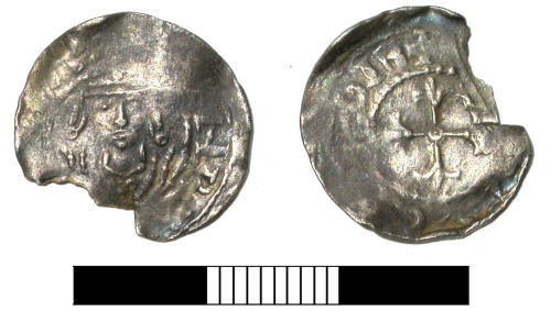 SUR-43FFE1: Medieval coin: Penny of Henry I