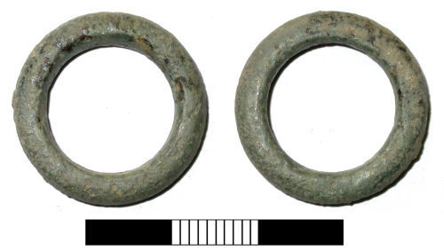 SUR-01F7D7: Iron Age or Roman: Harness ring