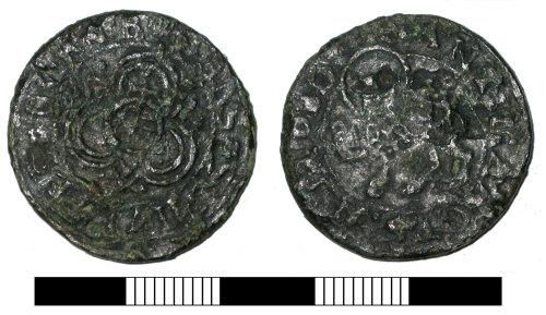 SUR-2781C2: Post medieval: Nuremberg jetton