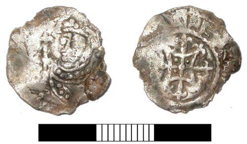 SUR-56DA02: Medieval coin: Penny of Henry I