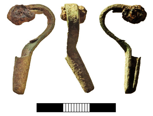 SUR-C0B046: Iron Age: Brooch
