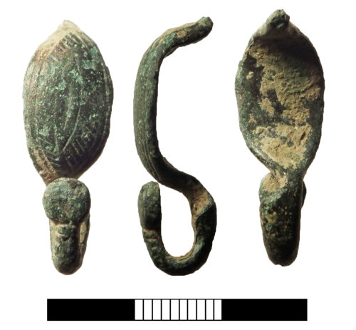 A resized image of Iron Age: One piece brooch