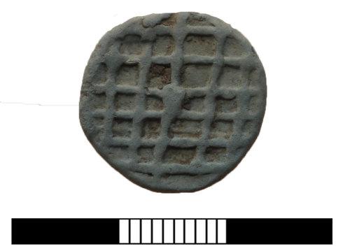 SUR-97A9AE: Post medieval: Lead token