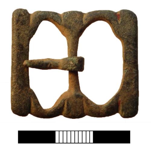 SUR-97C5D6: Post medieval: Buckle