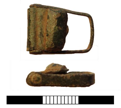 SUR-97DFC0: Medieval: Folding strap clasp